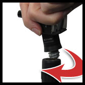 keeler handle with easy attachment