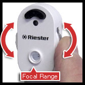 riester e-scope ophthalmoscope with maywheel focusing wheel