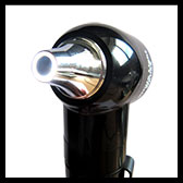 keeler jazz otoscope with a clear ring of LED light